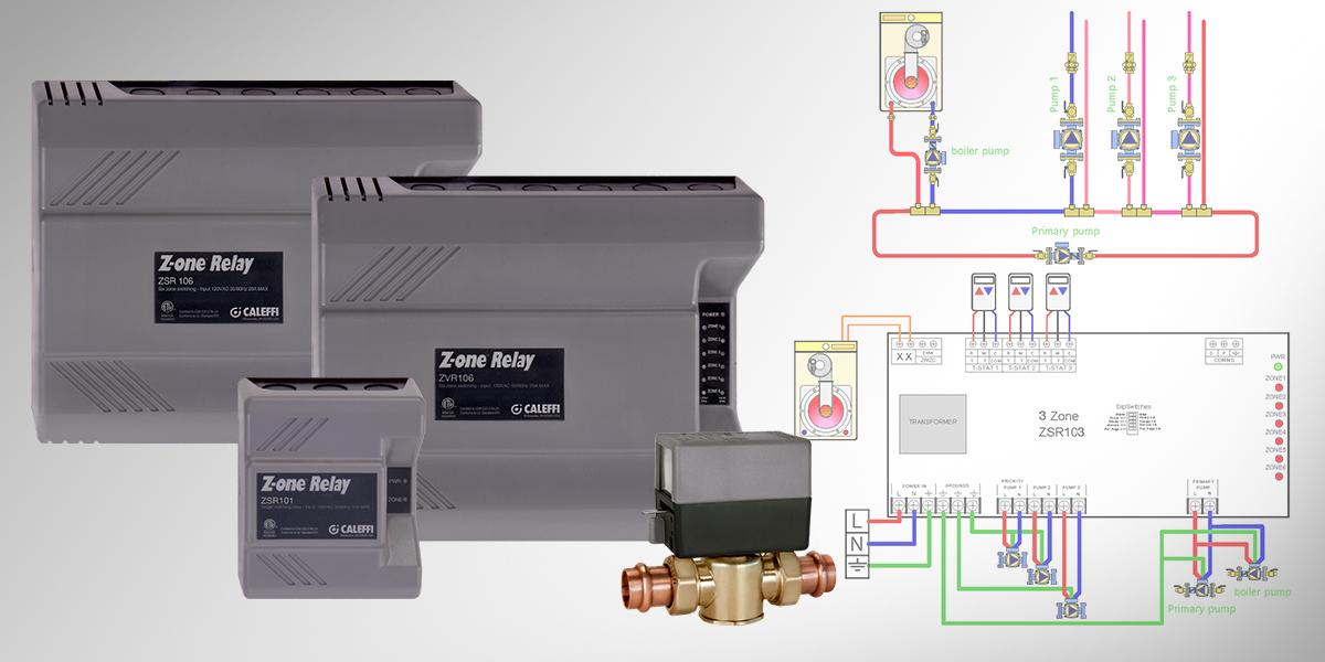 caleffi zone valve wiring diagram tech tip z one    relay wiring guide caleffi  tech tip z one    relay wiring guide