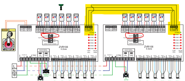 caleffi zone valve wiring diagram can i add a zone to an existing zsr or zvr relay board  caleffi  an existing zsr or zvr relay board