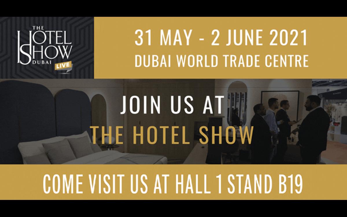 Join Caleffi at the Hotel Show Dubai