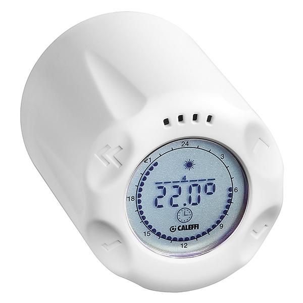 valvole termostatiche digitali caleffi termosifoni in