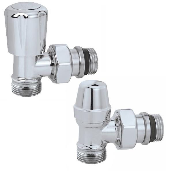 3380 robinet querre coude de r glage chrom poli - Reglage robinet thermostatique ...