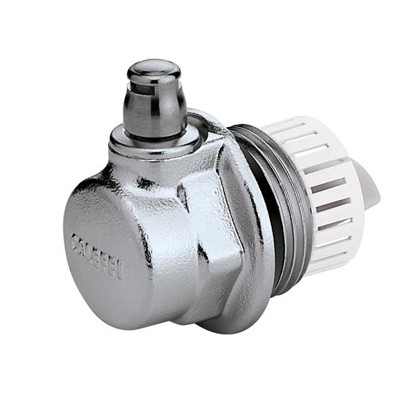 507 aercal tappo per radiatori con valvola di sfogo aria caleffi italia - Purgeur automatique radiateur ...