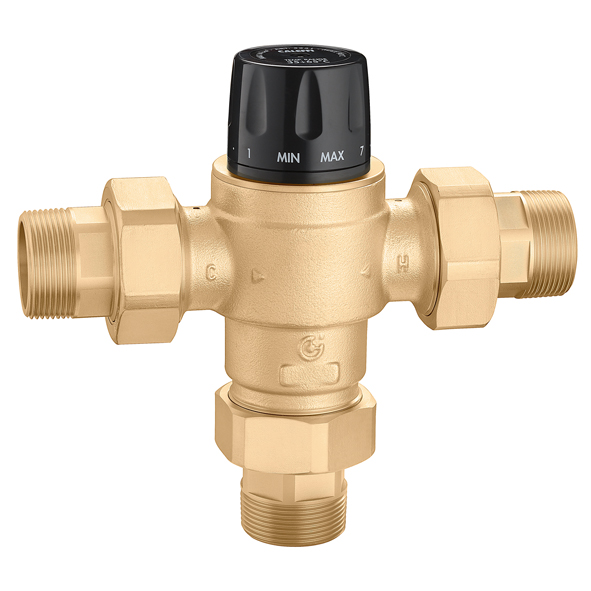 Thermostatic Mixing Valve Control: 5231 MixCal+™ High Flow Thermostatic Mixing Valve (NPT