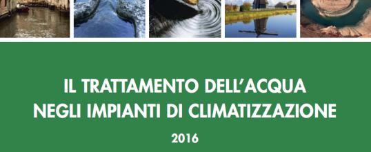IL TRATTAMENTO DELL'ACQUA NEGLI IMPIANTI DI CLIMATIZZAZIONE