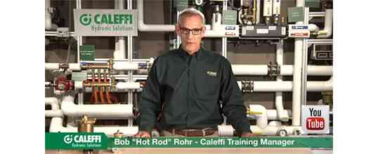 Caleffi YouTube videos, Product Training, Ask Caleffi, Coffee with Caleffi