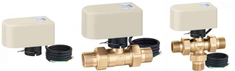 Ask Caleffi:  6440 Series Actuator, Motorized Ball Zone Valves