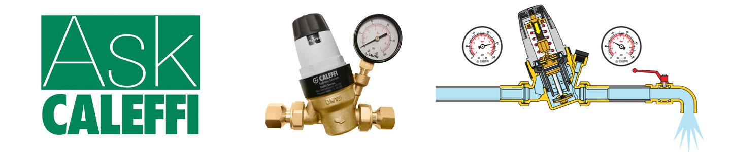 What is fall-off pressure for a pressure reducing valve?