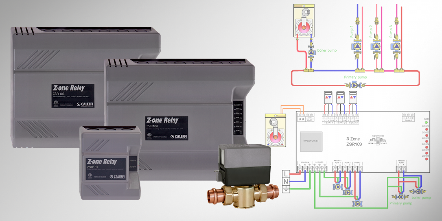 Caleffi Zone Valve Wiring Diagram Blog About Diagrams Taco 570 Tech Tip Z One Relay Guide 3 Wire
