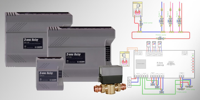 Caleffi Zone Valve Wiring Diagram Blog About Diagrams Taco 555 24 Volt Tech Tip Z One Relay Guide Boiler