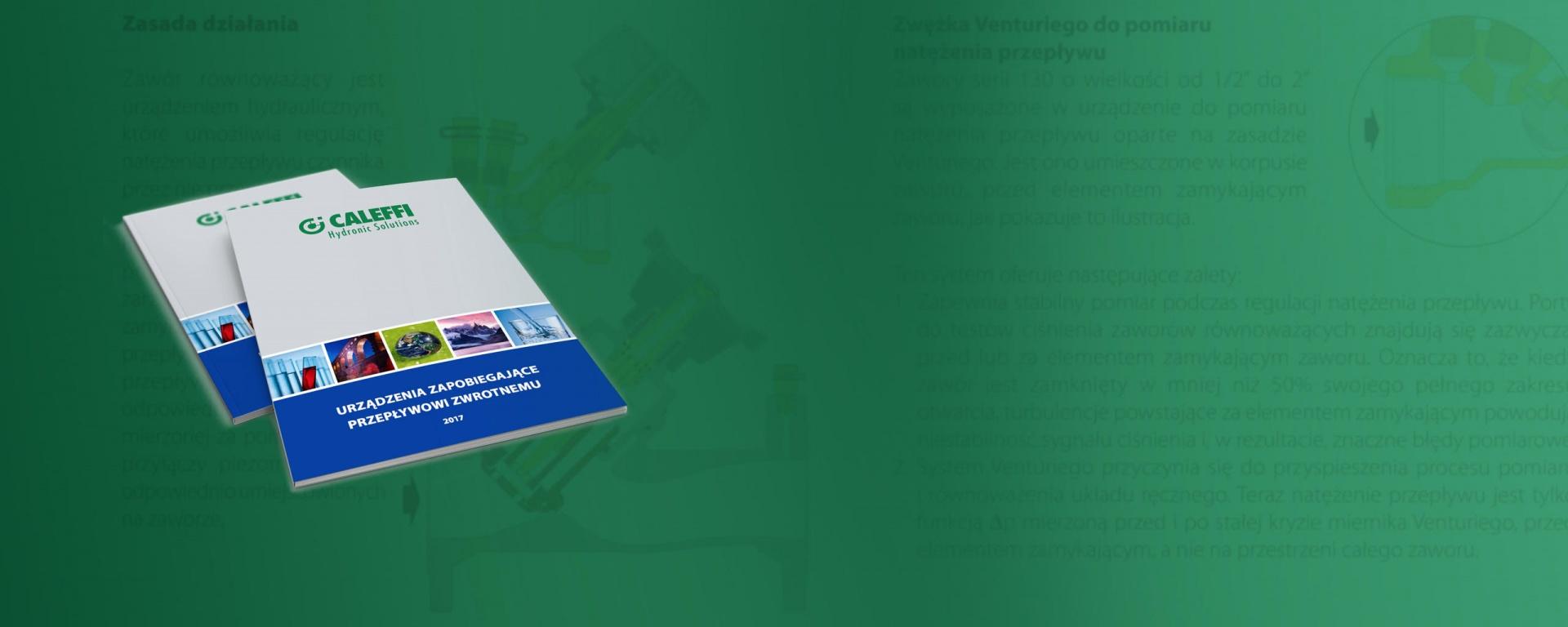 Broszura Urządzenia zapobiegające przepływowi zwrotnemu