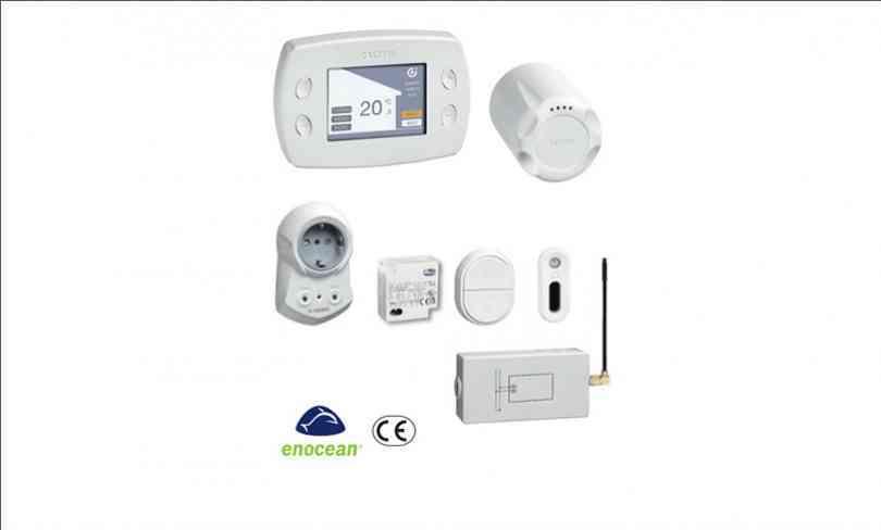 elektronisches thermostat regelsystem fuer heizkoerper caleffi. Black Bedroom Furniture Sets. Home Design Ideas