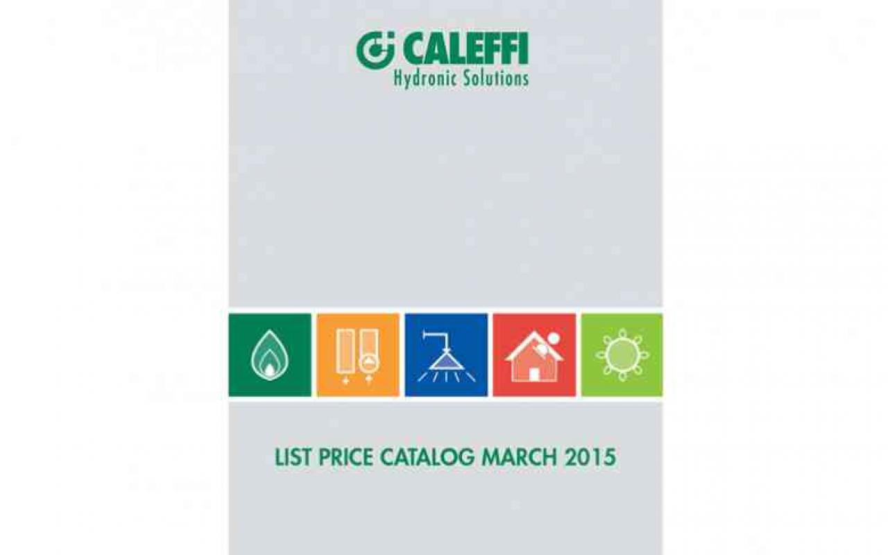 2015 catalog caleffi for Catalogo caleffi 2015
