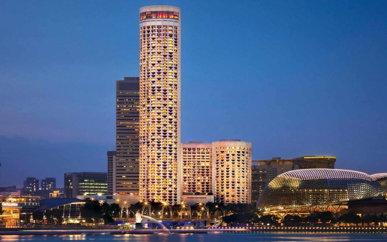 Caleffi and the Swissôtel the Stamford Singapore