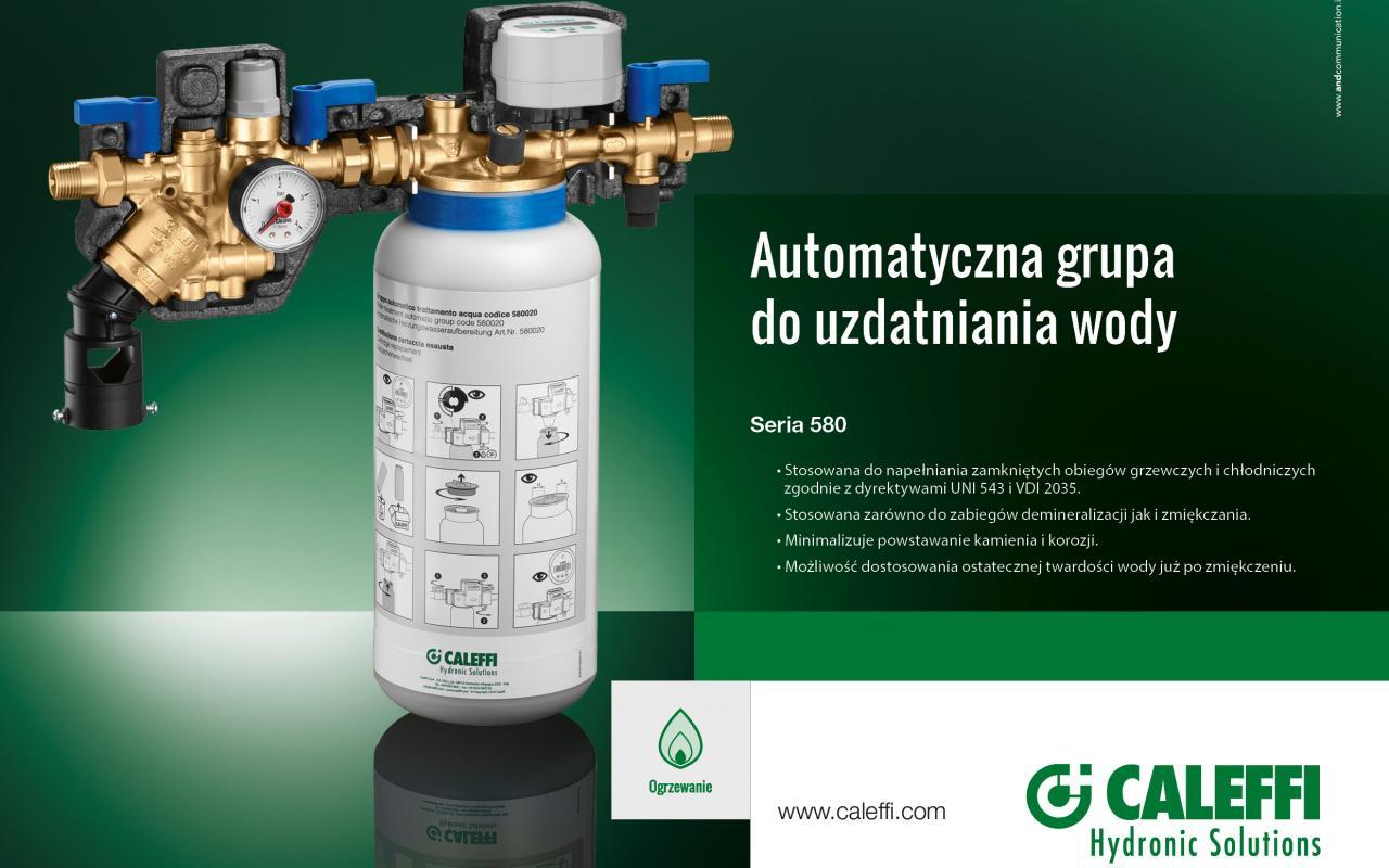 Automatyczna grupa do uzdatniania wody 580