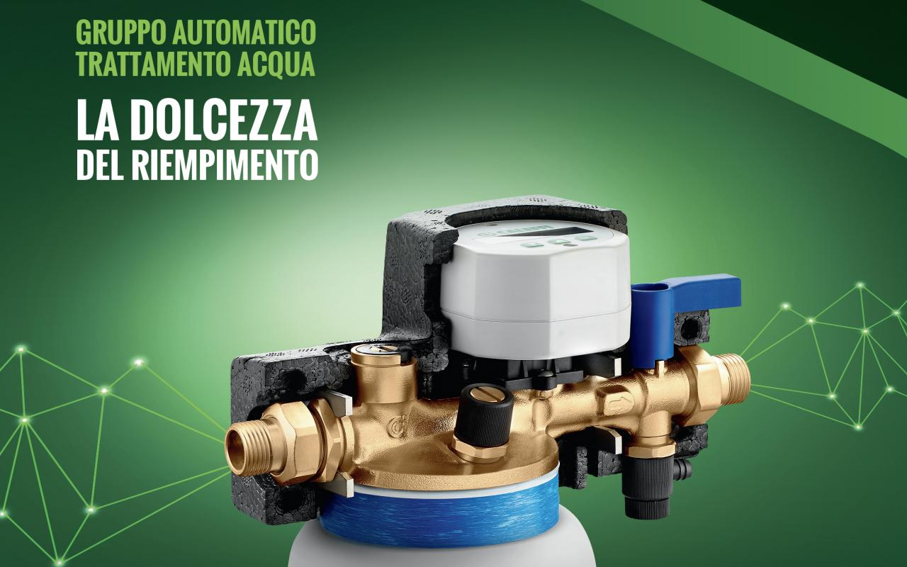 Gruppo automatico di trattamento acqua Caleffi