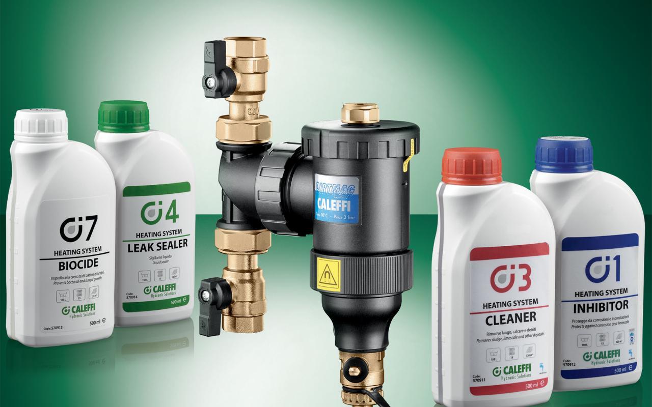 Caleffi chemical additives