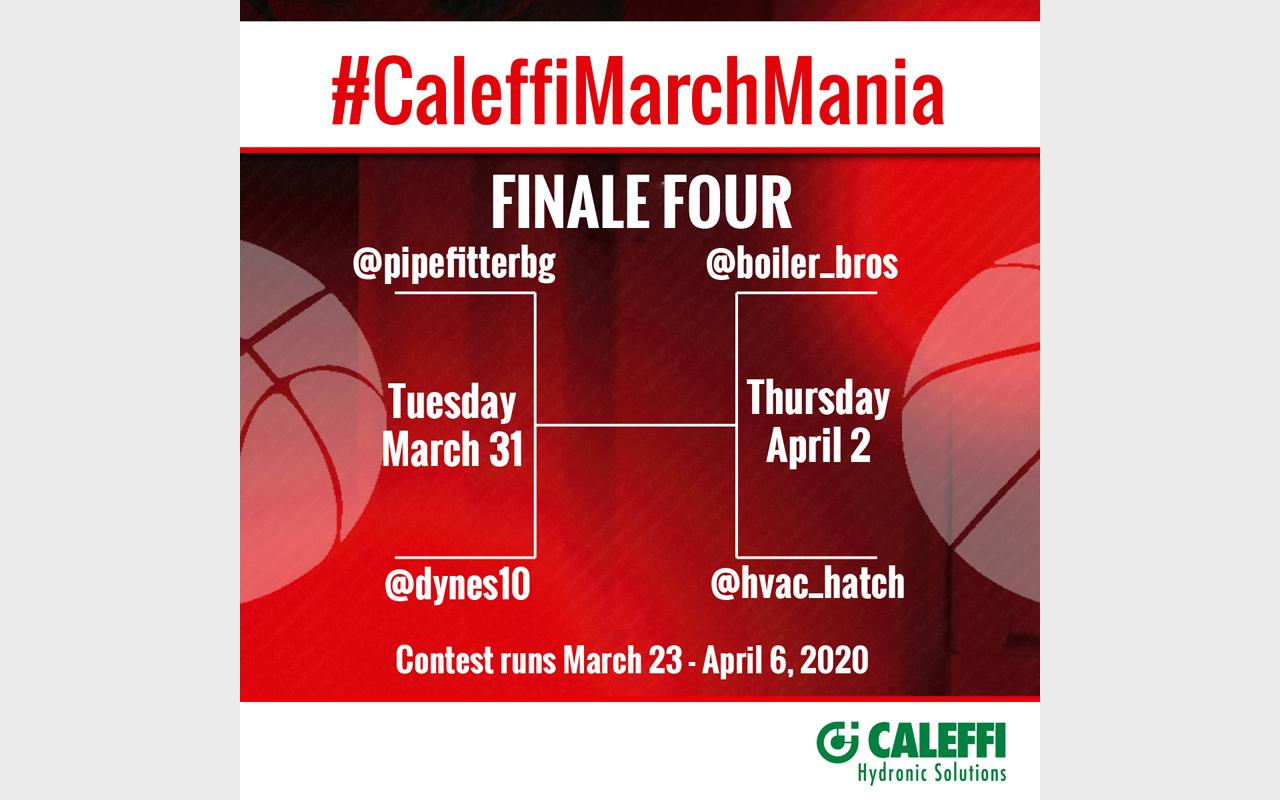 Full-court Press in the #CaleffiMarchMania Contest
