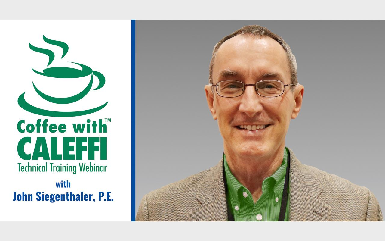 Coffee with Caleffi™:  Temperature Control in Domestic Hot Water Systems