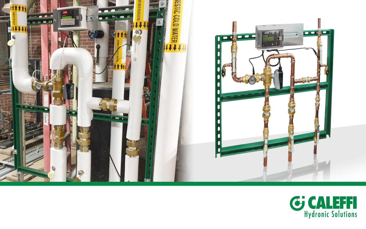 High Performance Temperature Control and Maximum Flow Made Easy with the LEGIOMIX® Station