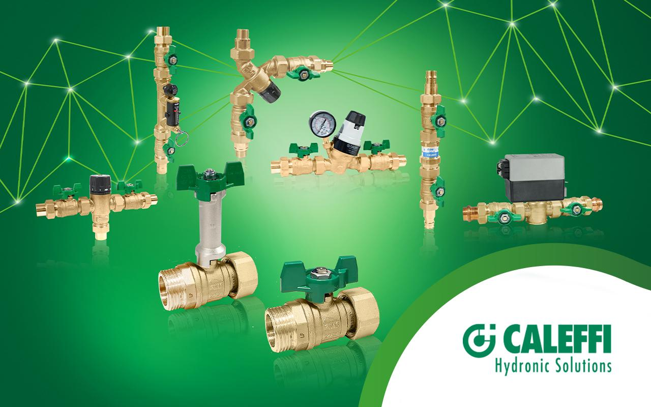 Safe and Easy Isolation from Caleffi