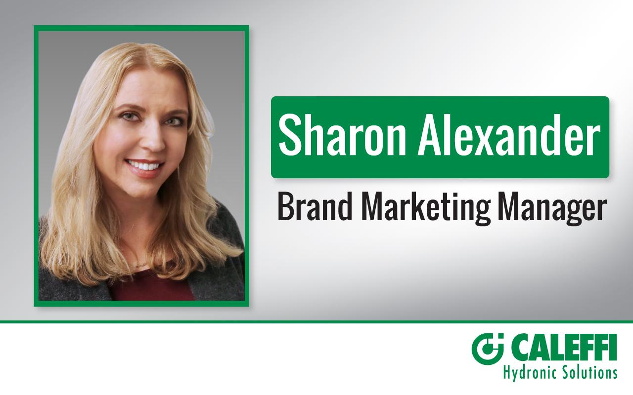 Caleffi Appoints Sharon Alexander to Brand Marketing Manager