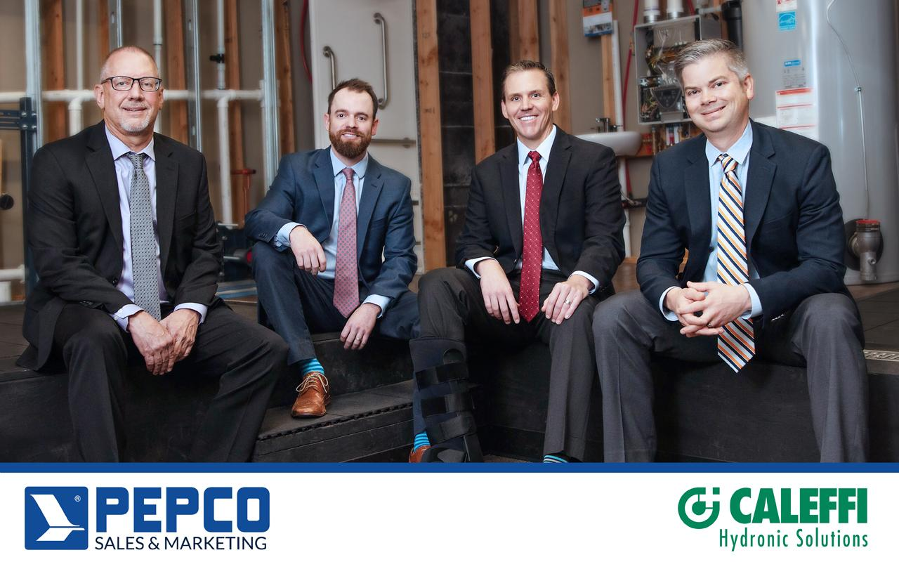 Caleffi Names Pepco Sales & Marketing as New Rep Firm