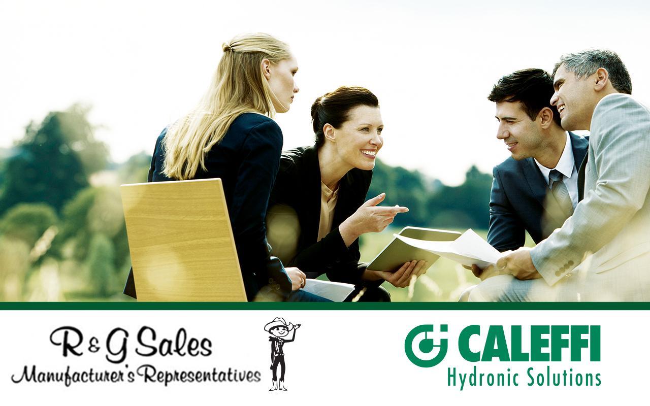 Caleffi Announces R & G Sales as New Representative