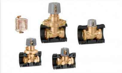 Regolatore di pressione differenziale e valvola di preregolazione Caleffi