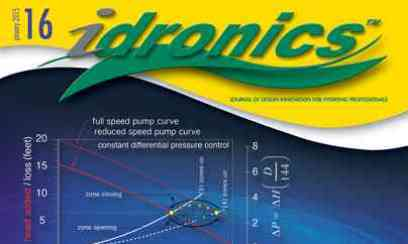 idronics 16:  Circulation in Hydronic Systems