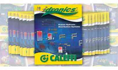 Caleffi Releases the 19th Edition of idronics™