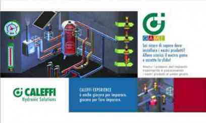 Caleffi GAME - Mobile App