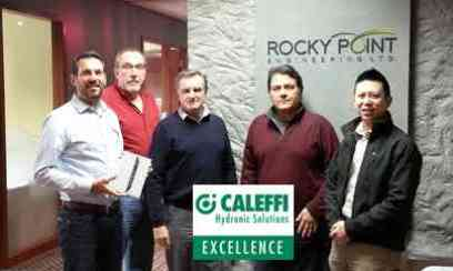 Caleffi Excellence Winner:  Rocky Point Engineering