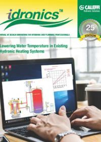 idronics - Lowering Water Temperature in Existing Hydronic Systems