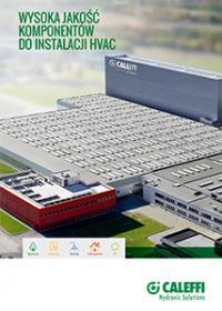 Wysoka jakość komponentów  do instalacji HVAC