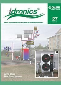 The 27th edition of idronics:  Air-to-Water Heat Pump Systems