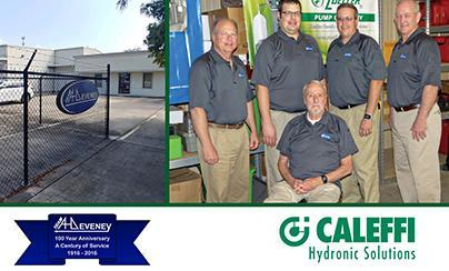 Caleffi Partners with A.H. Deveney & Company
