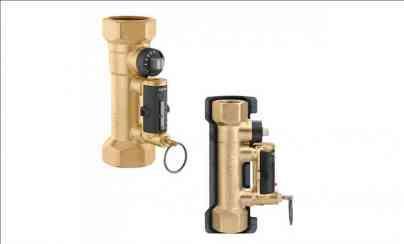 Caleffi - Strangregulierventile mit Durchflussmesser Serie 132