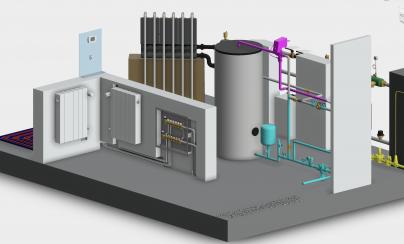 Caleffi Centrale Termica BIM