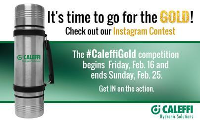 #CaleffiGold Competition