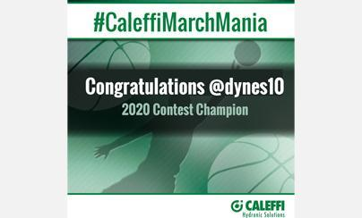 A Slam Dunk in the #CaleffiMarchMania Contest
