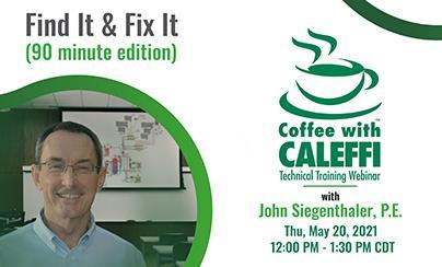 Coffee with Caleffi™:  Find It & Fix It