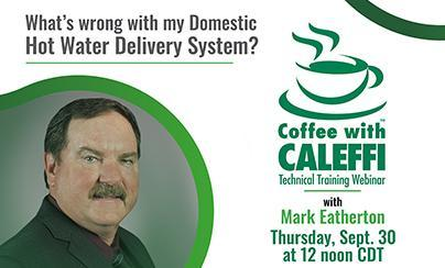 Coffee with Caleffi™:  What's wrong with my DHW delivery system?