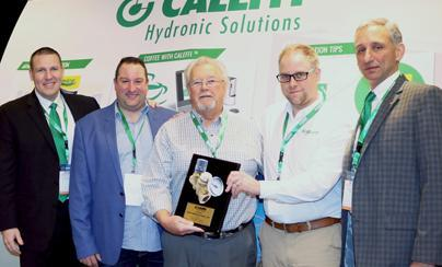 Caleffi Industry Elites Recognized