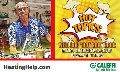 Hot Topics with Hot Rod - EPISODE 3:  The Pressure is ON... or is it?