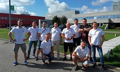 Caleffi Poland - Motocyklowy wyjazd