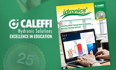 Ushering in the 25th Edition of idronics™