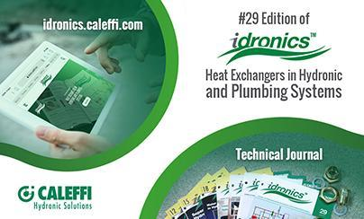 Introducing the 29th Edition of idronics™: Heat Exchangers in Hydronic and Plumbing Systems