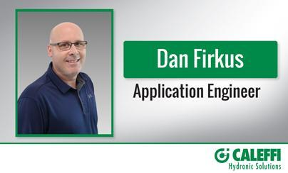Excellence in Technical Support:  Caleffi Adds Application Engineer