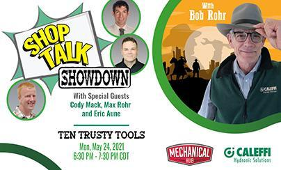 "Shop Talk Showdown with Bob ""Hot Rod"" Rohr:  EPISODE 5 - Ten Trusty Tools"