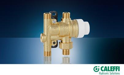Simple Scald Protection with SinkMixer™ 4-Way Thermostatic Mixing Valve